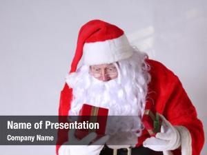 Santa claus is shocked