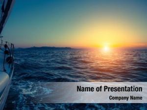 Sailing beautiful sunset yachts mediterranean