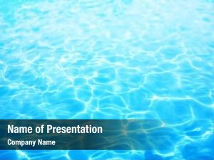 Water summer resort ripple, under