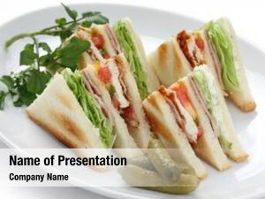 Clubhouse club sandwich sandwich