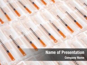 Insulin lots syringes