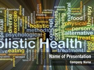 Wordcloud background concept holistic health