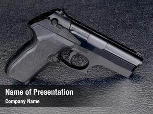 Fake/prop nice image pistol used