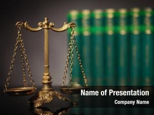Concept, law justice antique golden