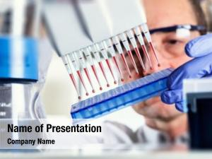 Multipipette scientist uses during dna