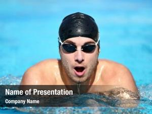 Swimmer swimming male swimming breaststroke