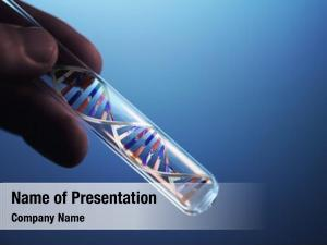Test dna molecule tube