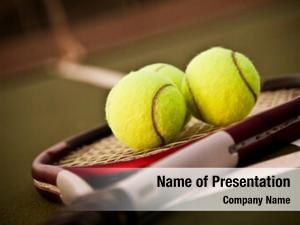 Racquet shot tennis tennis balls