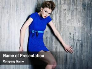 Stunning fashion shot female model