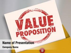 Proposal value proposition business deal