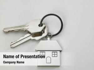 Key pair house house shaped