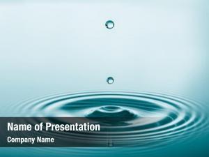 Water presentation background
