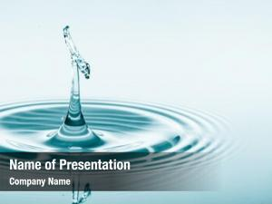 Water presentation template