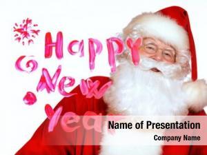 Claus portrait santa wishes happy