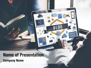 Website blog blogging web page