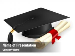 Diploma, graduation cap bitmap copy