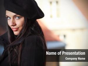 Woman, portrait fashion street photography