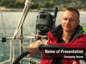 Sail skipper helm yachts boat
