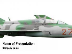 White military aircraft