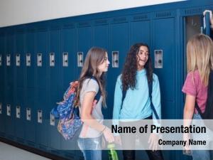 Three candid photo junior high
