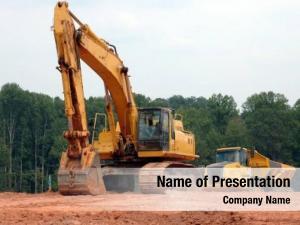 Equipment heavy construction backhoe bulldozer