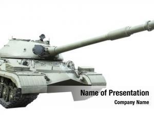 White military tank