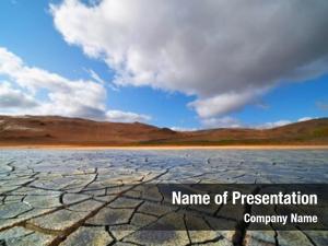 Desert dried land
