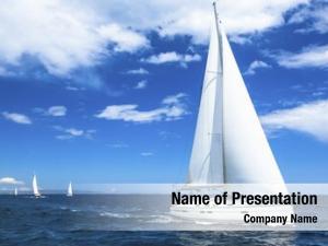Yacht sailing boat sail regatta