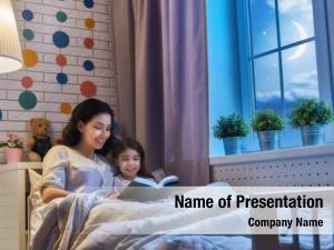 Bedtime family reading