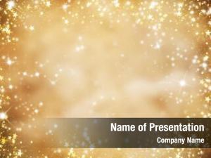 Christmas abstract golden glitter stars