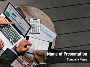 Having business people meeting company's