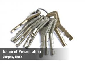 White bunch keys
