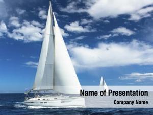 Sailing sailboats participate regatta