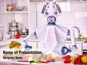 Household robot domestic assistance cook