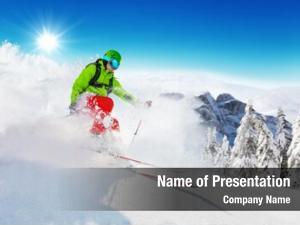 Competition rucksack freeride skier