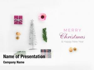 Composition christmas objects christmas card,
