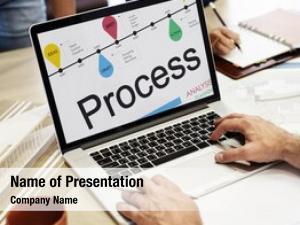 Progress timeline process development concept