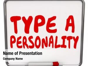 Words type personality dry erase