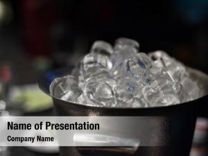 Ice ice bucket cubes