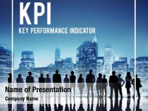 Team global business kpi cityscape