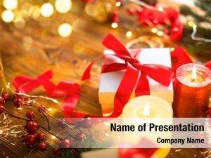 Box christmas gift red sanin
