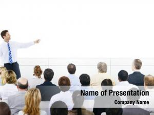 Seminar business presentation corporate training