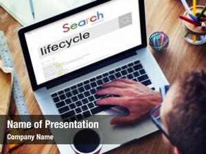 Browsing businessman connect internet search