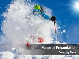 Mountainside rucksack freeride skier