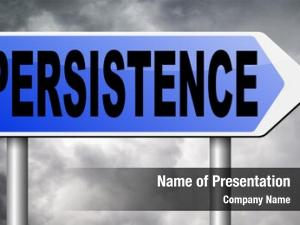 Pay persistence will off! never