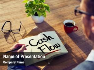 Cash man note flow concept