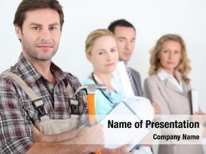 Professions four different focus carpenter