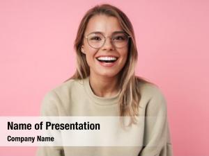 Girl smiling brunette