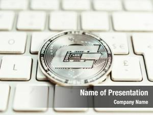 Dash crypto currency coin computer