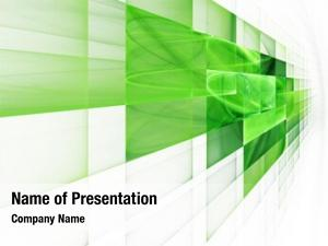 Geometric abstract green corporate